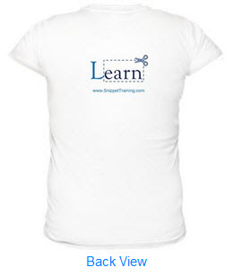 Snippet Training SignatureSoft Women's T-shirts (BackView)
